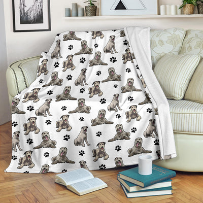 Irish Wolfhound Paw Blanket