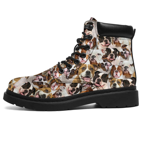 American Bulldog 2 Full Face  All-Season Boots