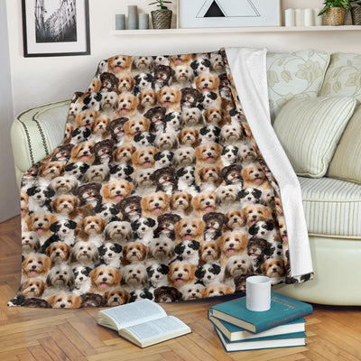Havanese Full Face Blanket