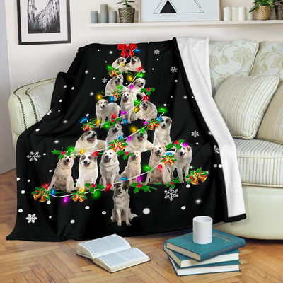 Great Pyrenees Christmas Tree