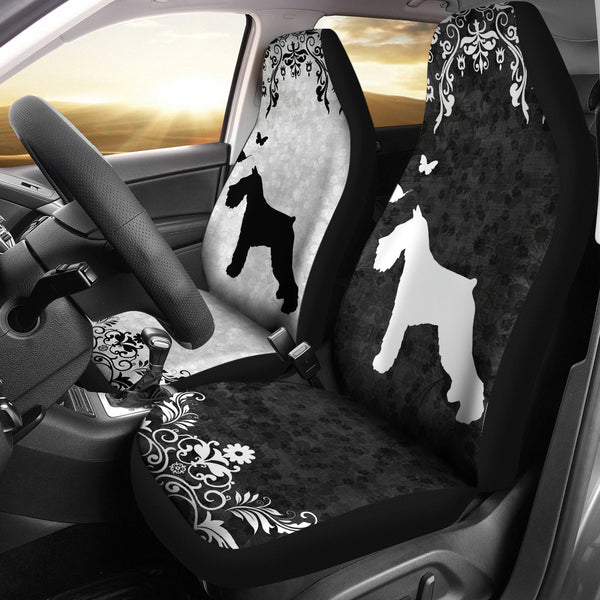 Standard Schnauzer - Car Seat Covers