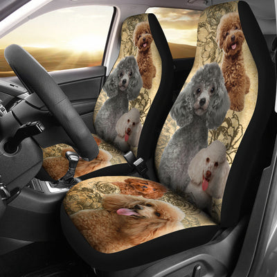 Poodle - Car Seat Covers
