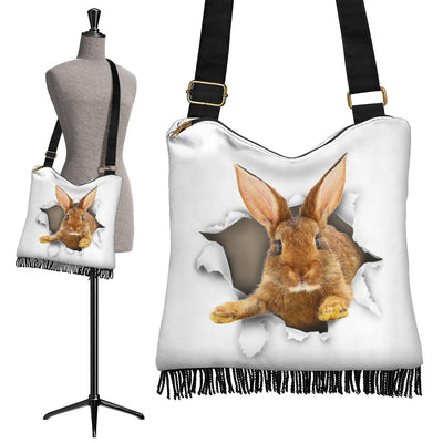 Rabbit - Crossbody Boho Handbag