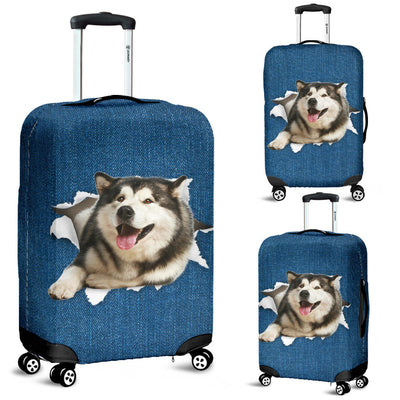 Alaskan Torn Paper Luggage Covers