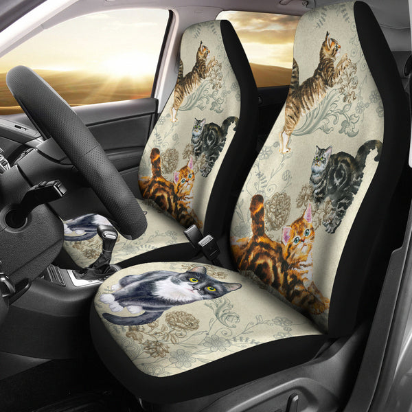 Cats - Car Seat Covers