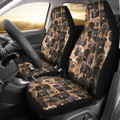 Bullmastiff Full Face Car Seat Covers
