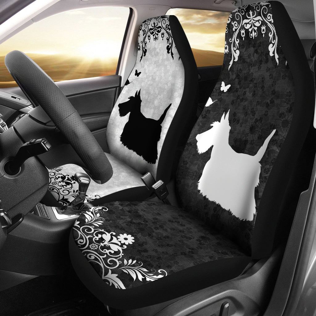 Scottish Terrier - Car Seat Covers