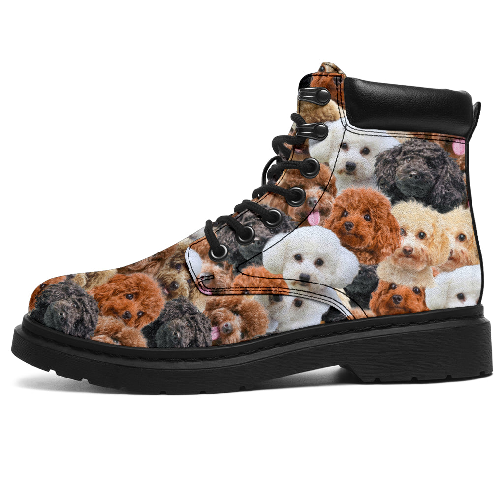 Poodle Full Face All-Season Boots