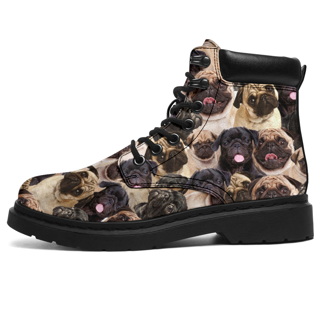 Pug Full Face All-Season Boots
