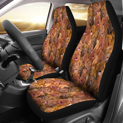 Dogue de Bordeaux Full Face Car Seat Covers