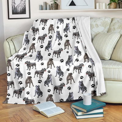 Cane Corso Paw Blanket