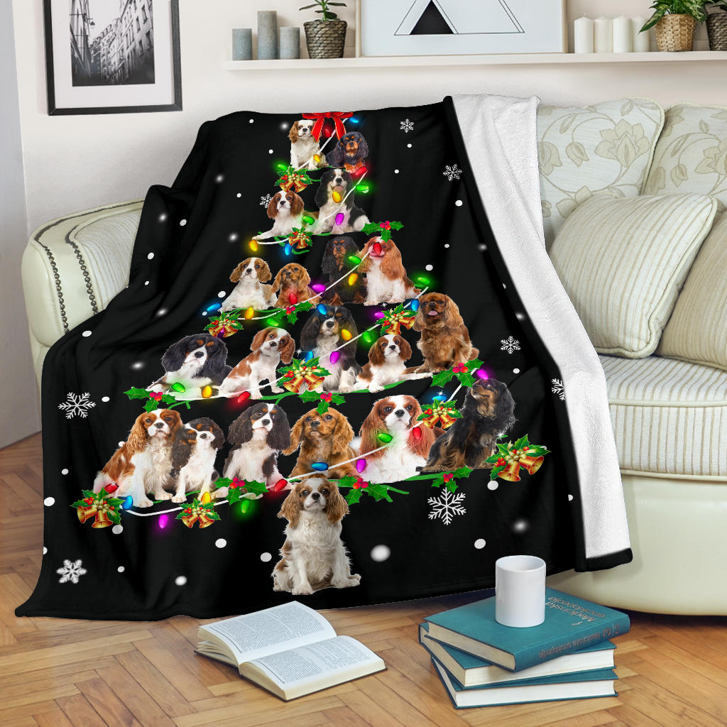 Cavalier King Charles Spaniel Christmas Tree