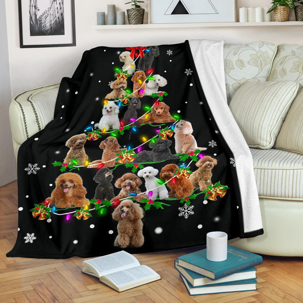 Poodle Christmas Tree