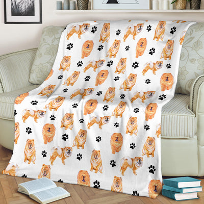 Chow Chow Paw Blanket