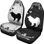 Samoyed dog - Car Seat Covers
