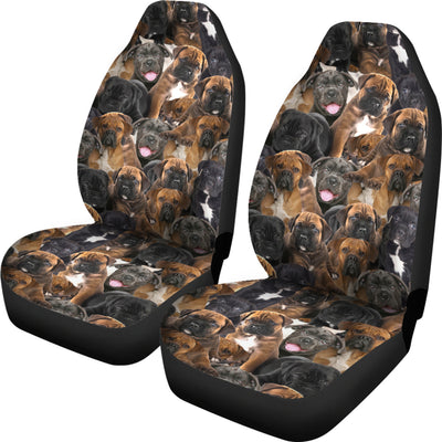 Cane Corso Full Face Car Seat Covers