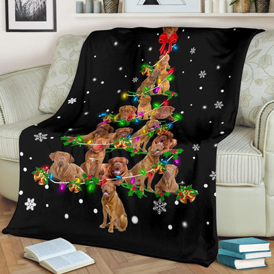 Dogue de Bordeaux Christmas Tree