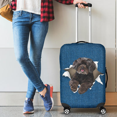 Schnoodle Torn Paper Luggage Covers