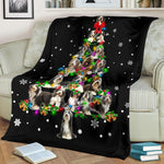 Bearded Collie Christmas Tree