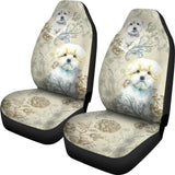 Maltese - Car Seat Covers