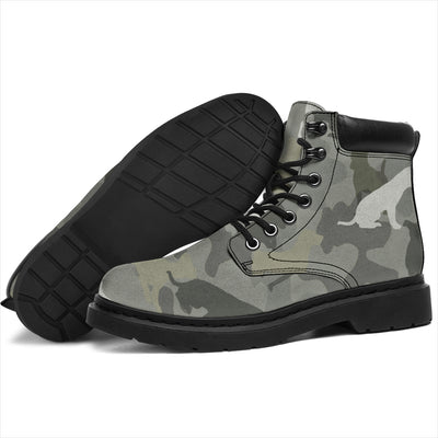 Jack Russell Terrier Camo All-Season Boots