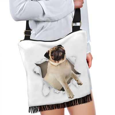 Pug - Crossbody Boho Handbag
