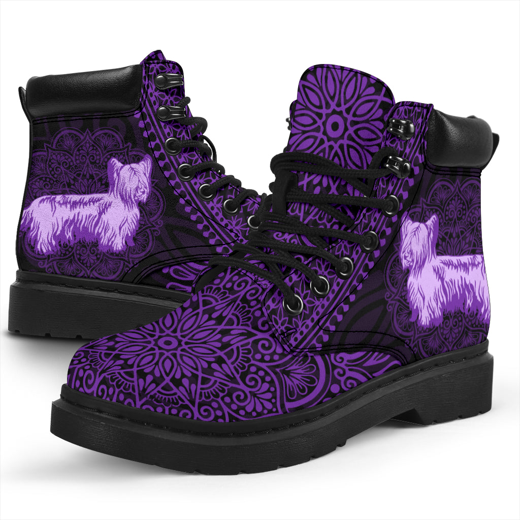 Skye Terrier Mandala All-Season Boots