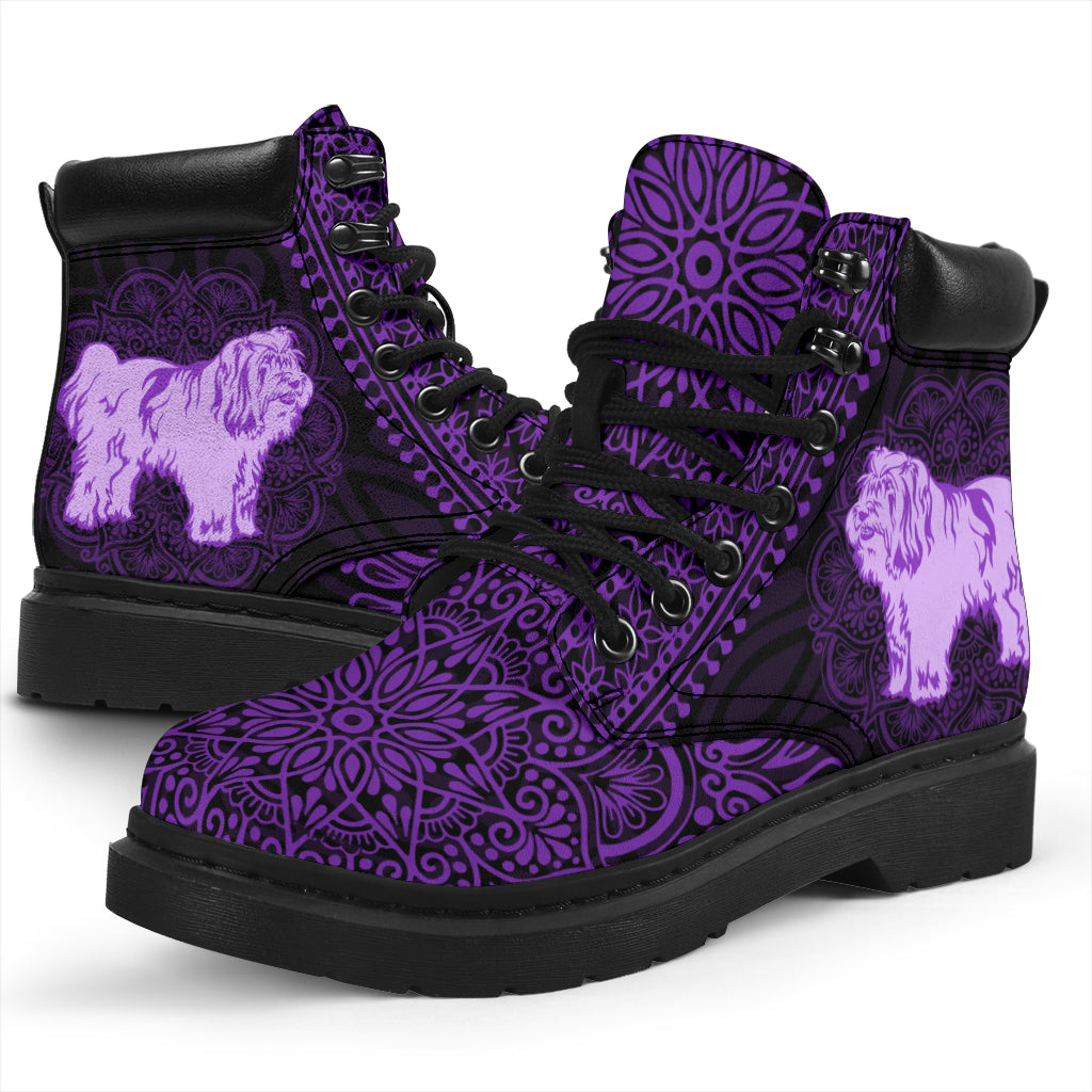 Tibetan Terrier Mandala All-Season Boots