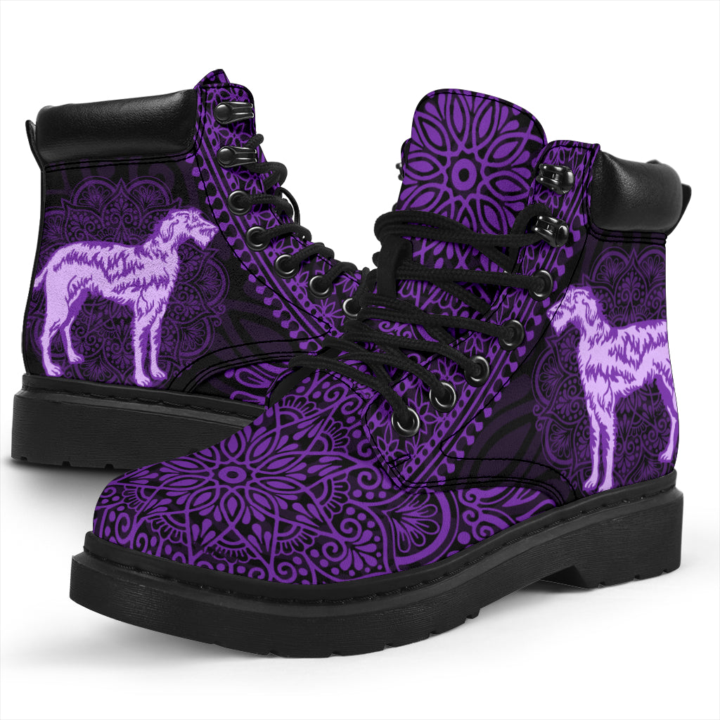 Irish Wolfhound Mandala All-Season Boots