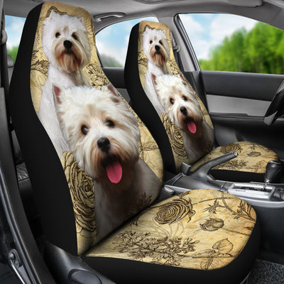 West Highland White Terrier - Car Seat Covers