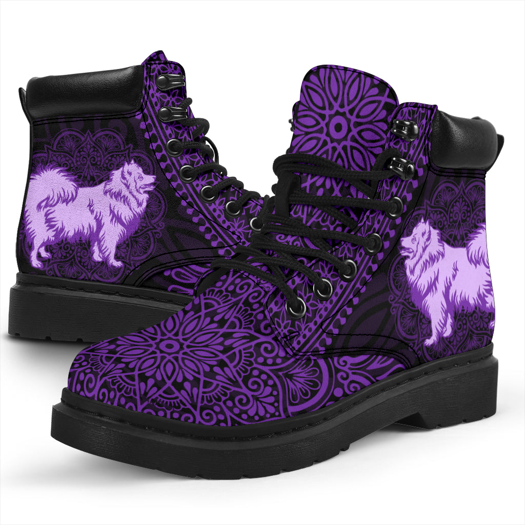 Japanese Spitz Mandala All-Season Boots