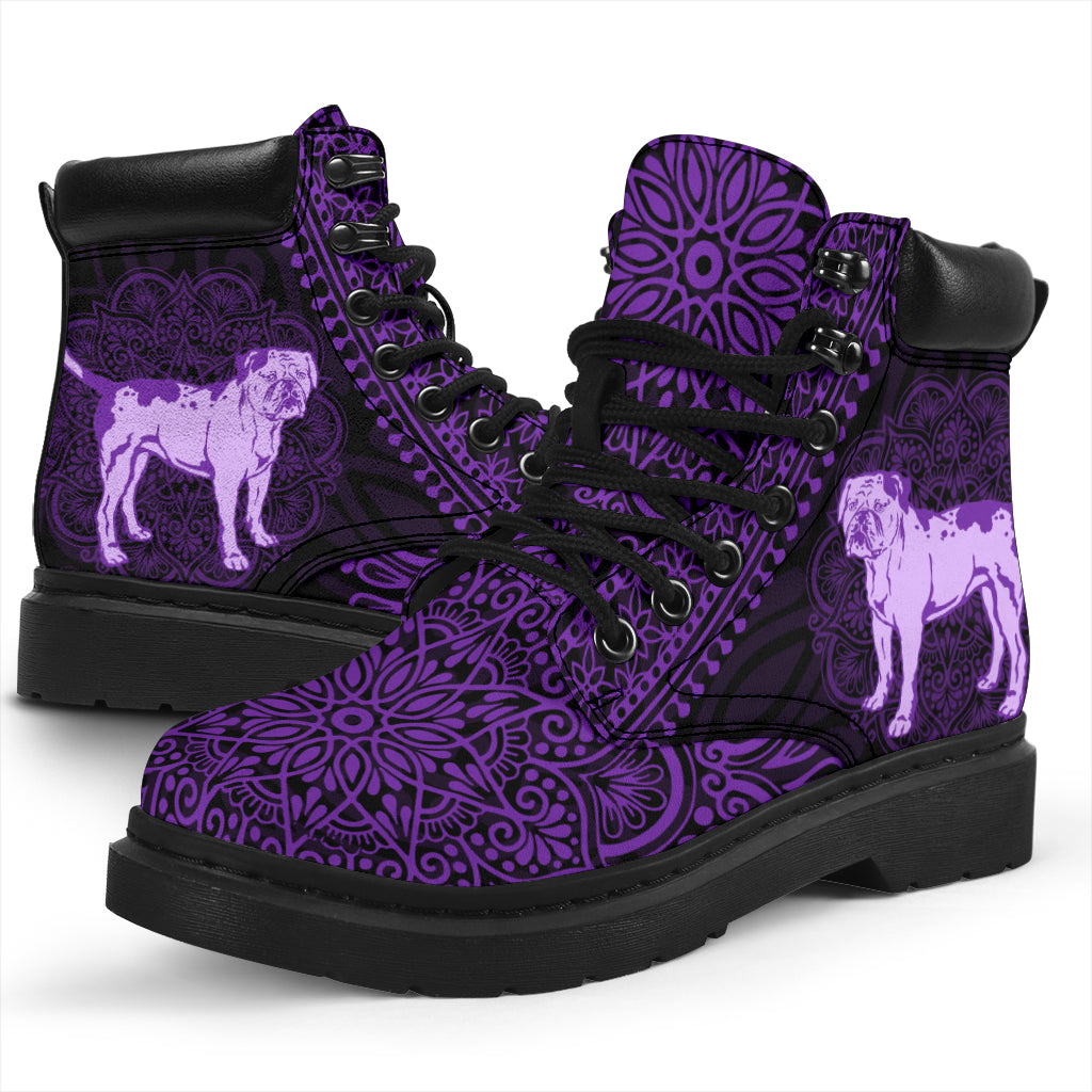 American Bulldog Mandala All-Season Boots