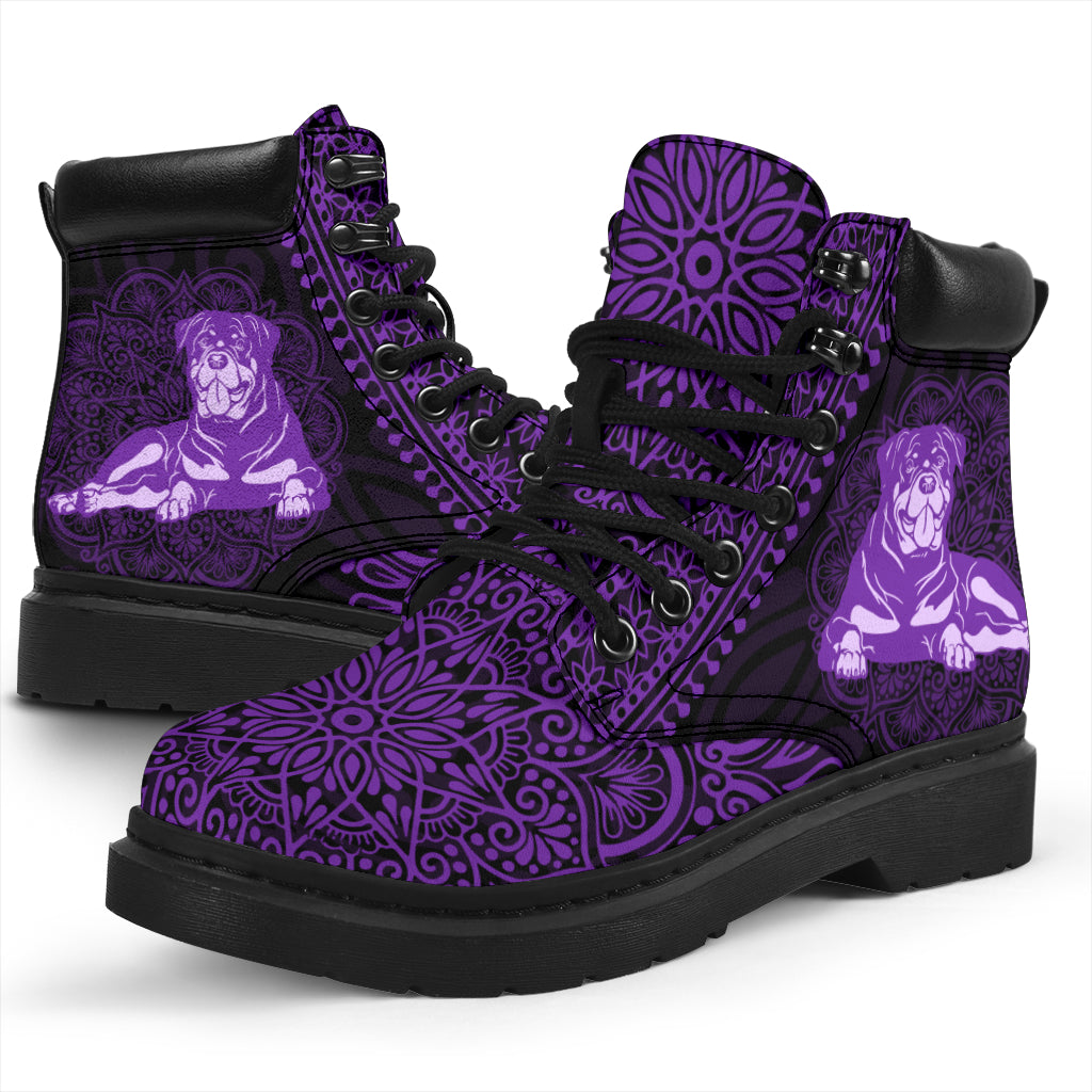 Rottweiler Mandala All-Season Boots