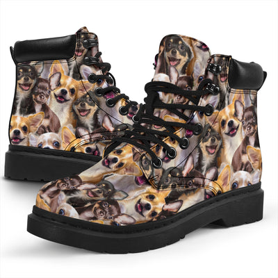 Chihuahua Full Face All-Season Boots
