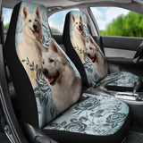 Berger Blanc Suisse - Car Seat Covers
