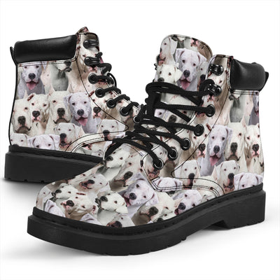 Dogo Argentino Full Face All-Season Boots