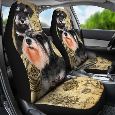 Schnauzer - Car Seat Covers