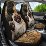 Pug - Car Seat Covers