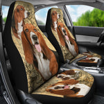 Basset Hound - Car Seat Covers