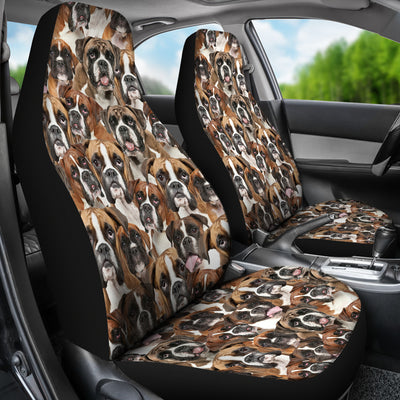 Boxer Full Face Car Seat Covers