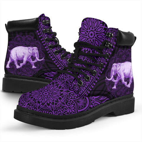 Elephant Mandala All-Season Boots