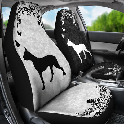 Dogo Argentino - Car Seat Covers