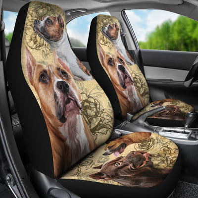 Staffordshire Bull Terrier - Car Seat Covers
