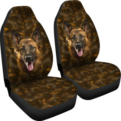 GERMAN SHEPHERD - CAR SEAT COVERS