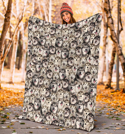 Alaskan Full Face Blanket