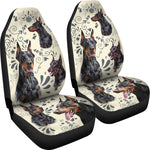 Dobermann - Car Seat Covers