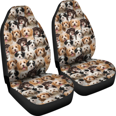 Havanese Full Face Car Seat Covers