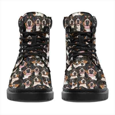 Greater Swiss Mountain Dog Full Face All-Season Boots
