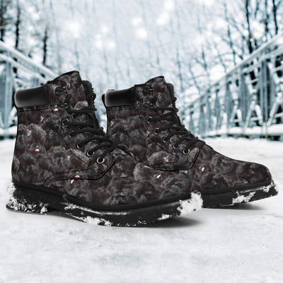 Affenpinscher Full Face All-Season Boots