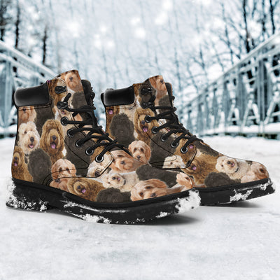 Labradoodle Full Face All-Season Boots